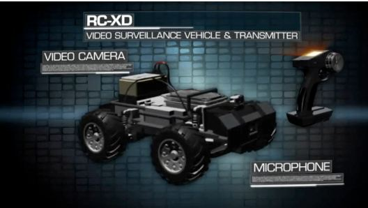 Call of Duty Black Ops RC XD Video Surveillance Vehicle