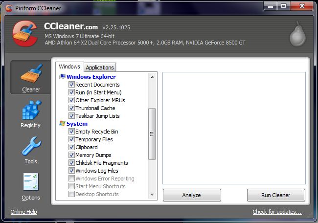 Clean Hard Drive Windows 7