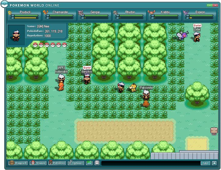 Pokemon World Online 2011 - Guia y Registro