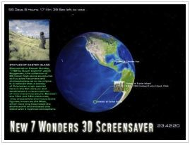 7 World Wonder Screensaver