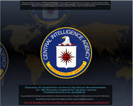 cia wallpaper. The centered CIA logo is