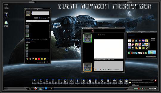 Event Horizon Theme