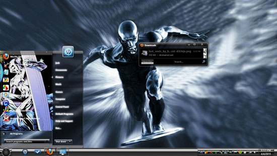 Silver Surfer Theme