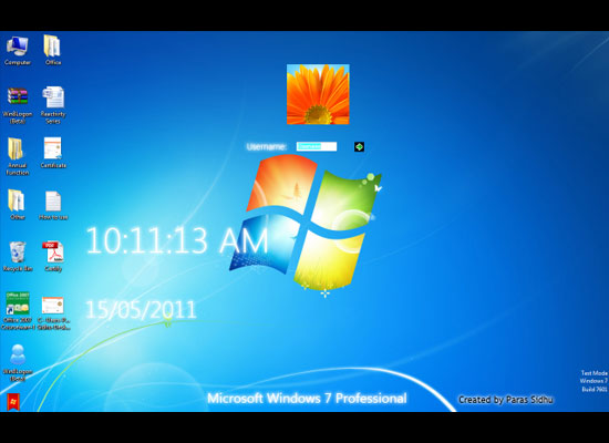 Windows 8 Win8Logon - Win 8 Logon in 7 Theme