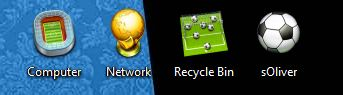 World Cup 2010 Desktop Icons