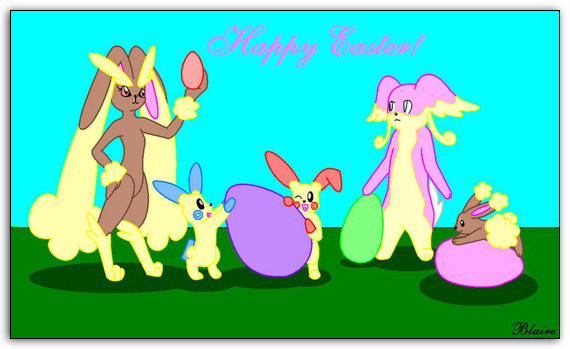 pokemon wallpapers. Easter Pokemon Wallpaper