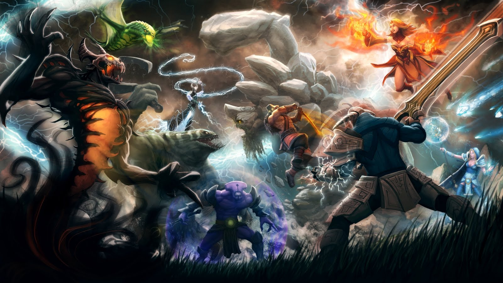 new dota 2 wallpapers