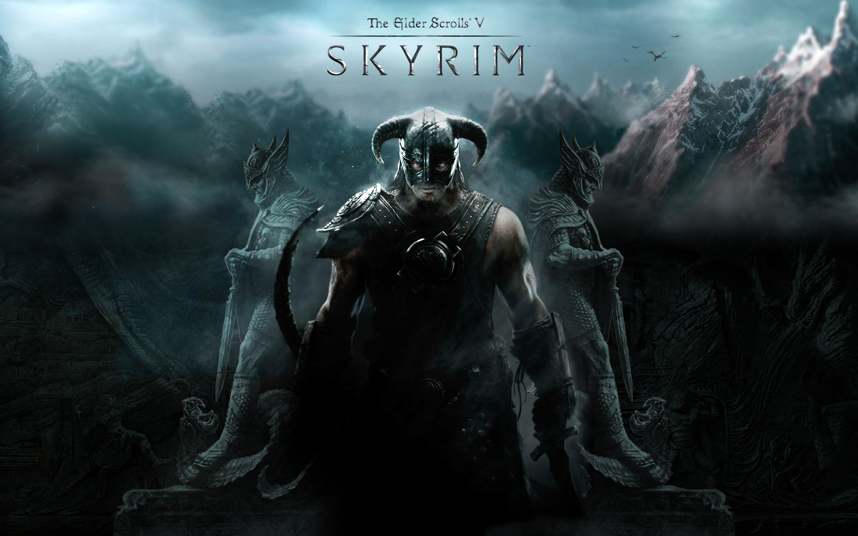 New Skyrim Windows 7 Themes With Fresh Wallpapers