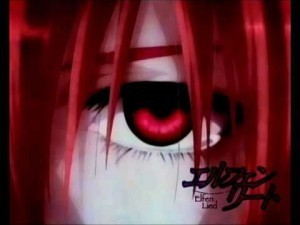 Anime: Elfen Lied Windows 7 Theme