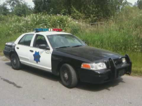Ford Crown Victoria Police Interceptor Wallpaper