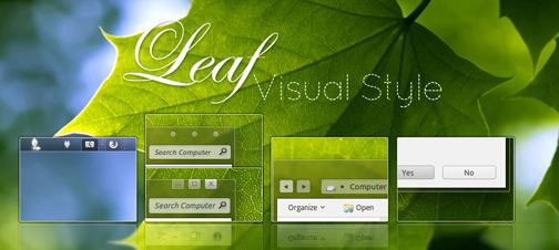 Download 10 More Green Windows 7 Nature Themes