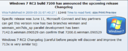 Windows 7 RC2 is a fake!