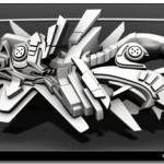 Cool Windows 7 Theme With 10 3D Graffiti Wallpapers (3D Typography)