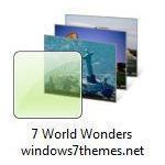7 wonders of the world windows 7 theme jpg