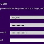 Create User Account without Using Email Address in Windows 8?