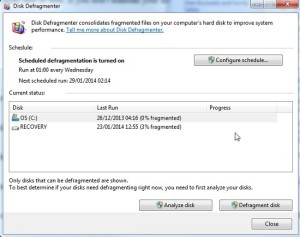 Disk-Defragmenter-Windows