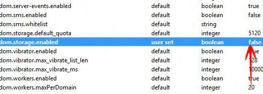 """Privacy, Security Tutorial: How to Enable or Disable DOM Storage """"Cookies"""" in Firefox?"""