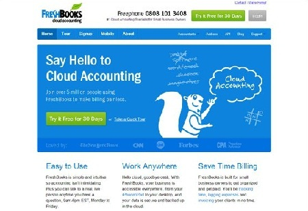 Review: 5 Best Cloud Accounting Software – Freshbooks And Co
