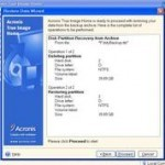 Restore Windows 7/8 Partitions Using Acronis True Image