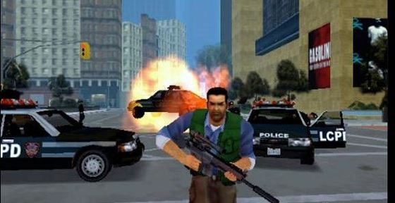 Liberty City Stories PSP