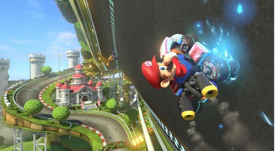 Mario Kart 8 to defy gravity!