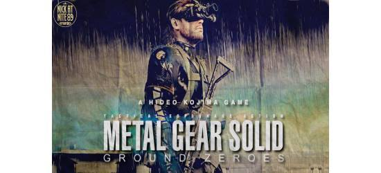 Metal Gear Solid Ground Zeroes Windows 7 Theme