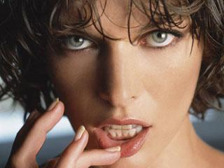 Pretty Milla Jovovich Desktop Wallpaper