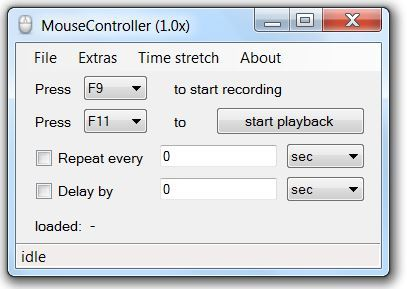 Record Mouse Clicks And Save Them As Macros: Speed Up Your Work With MouseController