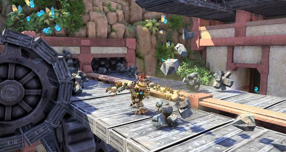 PlayStation 4 Exclusive Knack