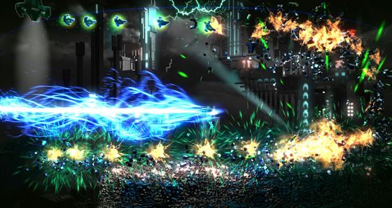 PlayStation 4 Exclusive Resogun