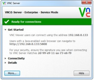 Real-Vnc-Guide