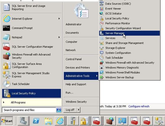 How To Install And Enable The IIS Web Server On Your Windows Server 2008 VPS