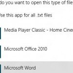 "Beginner: Change Default Program To Open Files In Windows 8 Via ""Open With"" Option"