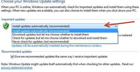How To Disable Automatic Updates in Windows 8