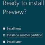 Disk Management: Installing Windows 8 on a 2nd Partition