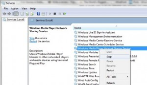 How to Disable Windows Media Player Sharing in Windows 8