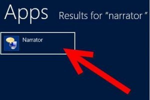 How to Disable Windows 8 Narrator
