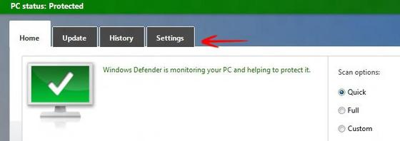 Security Tip: Create A Windows Defender Shortcut in Windows For Quick Access
