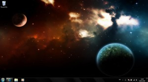 The World Of Space Windows 7 Theme