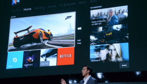 Microsoft Show Off Xbox One Dashboard