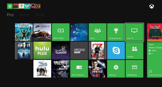 Xbox One Upgrade Interface 2014