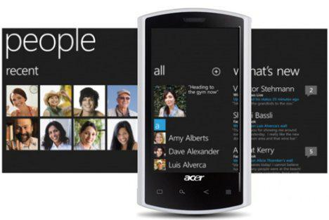 "Acer, Fujitsu And ZTE Are Preparing A ""Mango Phone"" (Windows Phone 7)"