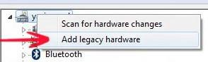 Old hardware: How to add legacy hardware in Windows 8