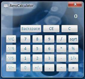 Aero Notepad & Aero Calculator