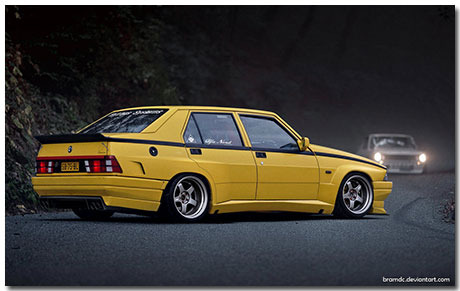 Alfa Romeo 75 Theme With 10 Backgrounds