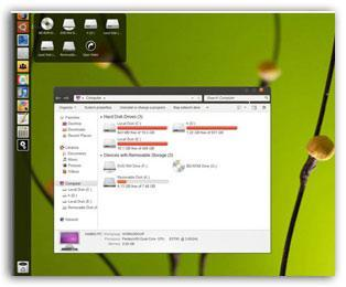 Awesome: Android and Ubuntu Windows 7 Themes