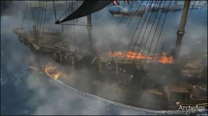 ArchAge: MMORPG Running CryEngine 2 With Epic Naval Battles