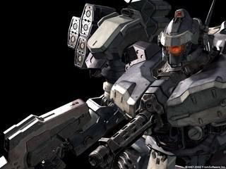 TOP: Armored Core V Windows 7 Theme With Incredible Wallpaper Package