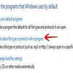 Registry problems: How to fix file associations in Windows 8 (via Control Panel)