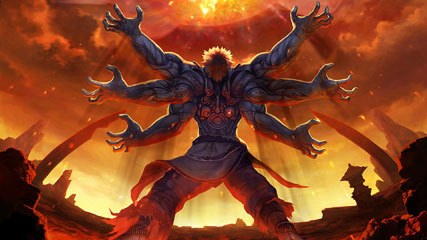 Windows 7 Game Theme With 3 Cool Asura's Wrath Wallpapers